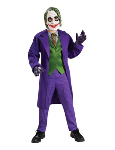 Joker Deluxe Child Small Kids Boys Costume