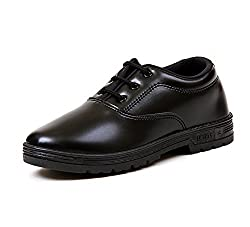 LibertySchool Boy Black Lace Up Shoes