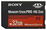 【32GB】 SONY/ソニー メモリースティック PRO-HG デュオHX (50MB/s) 海外リテール MS-HX32B