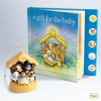 A Gift For The Baby 2011 Hallmark Ornament - QXG7583 - 1