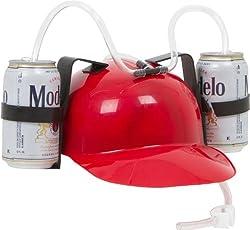 EZ Drinker Beer and Soda Guzzler Helmet & Drinking Hat