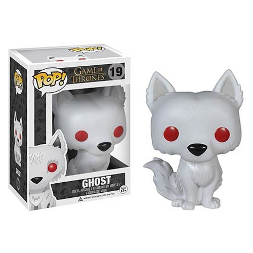 Game of Thrones Ghost Exclusive Pop! Vinyl Figure Dc Comics Urban GOT - 1