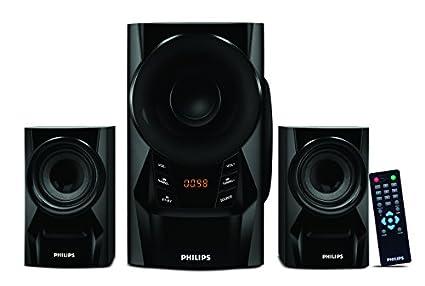 Philips MMS6080B Blue Thunder (2.1 channel) Speaker System