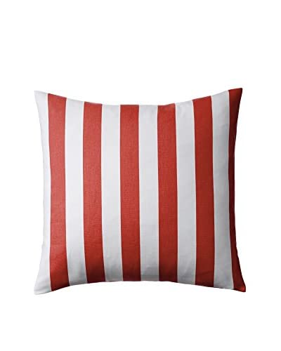 Nine Space Deck Pillow Cover, Red