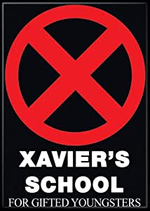 Marvel Comics X-Men Xavier's School For Gifted Youngsters Logo Magnet 20162MV