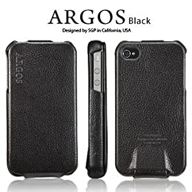 SPIGEN SGP ��̫� 4 / 4S ��� Argos �y BLACK �z �{�v �د������ for Apple iPhone 4 / 4S �y SGP06828 �z