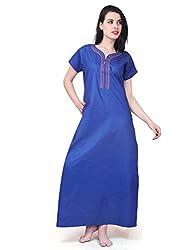 Farry Women's Nightie (9500_Blue_42)