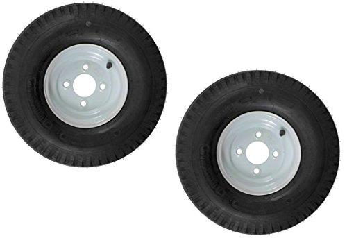 2-Pk eCustomrim Trailer Tire & Rim 570-8 5.70-8 8