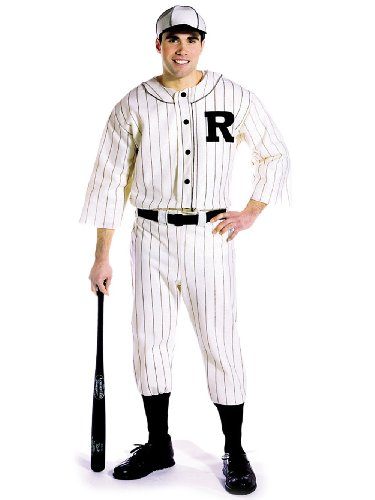 Mens Costume Old Time Baseball Player Athlete Uniform 1920s 1930s