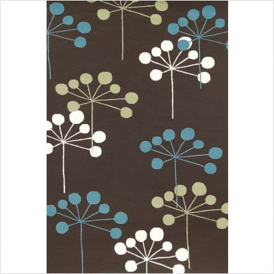 Sawgrass Mills Juneberry Brown Indoor/Outdoor Rug Size: 5' x 8' Rectanggle