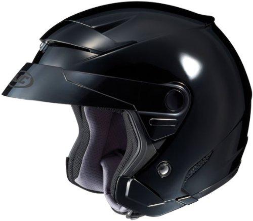 HJC FS-3 BLACK SIZE:MED Motorcycle Open-Face-Helmet