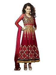 Khazana Women's Unstitched Dress Material (khazana-kag-fresh-10005_Multi_Free Size)