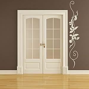 Buy destudio string vine with flowers embellishment home for Room decor embellishment art