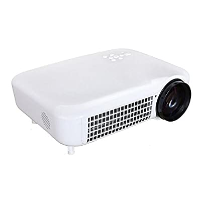 Multimedia LCD Projector 3000Lumens HD AV/VGA/HDMI/ATV/USB 1280*800 For Digital Video Games TV Home Movie Theater...