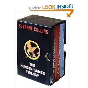 The Hunger Games Trilogy Boxed Set, hardcover, Suzanne Collins Catching Fire, Mockingjay