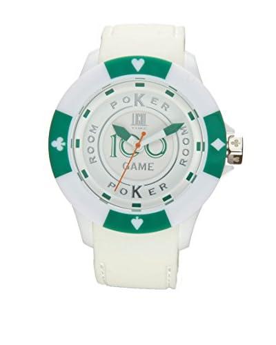Light Time Reloj Poker Blanco