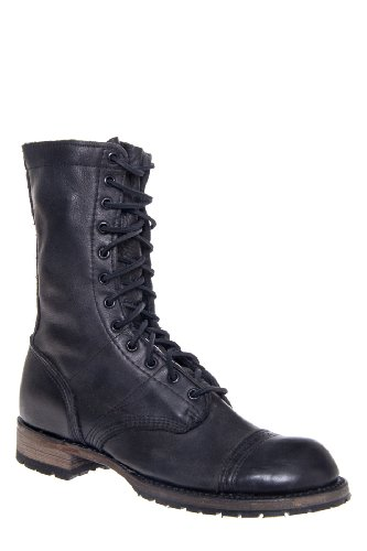 Vintage Shoe Company Nathaniel Mid Calf Combat Boot