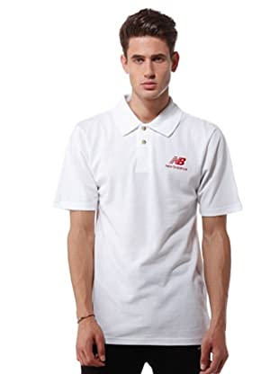 New Balance Polo Promo (bianco)