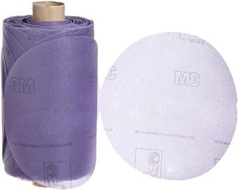 """3M Stikit Film Disc Roll 360L, PSA Attachment, Aluminum Oxide, 5"""" Diameter, P220 Grit (Pack of 1)"""