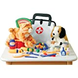Play Vet Set - For Pretend Play - 30 Piece Set