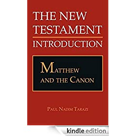 Matthew and the Canon