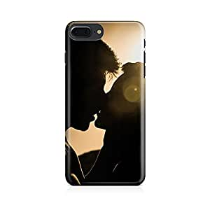 Motivatebox - Romantic Couple Kissing Apple Iphone 7 plus cover- Matte Polycarbonate 3D Hard case Mobile Cell Phone Protective BACK CASE COVER. Hard Shockproof Scratch-Proof Accessories