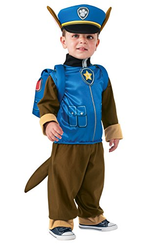 Chase Paw Patrol Halloween Costume for a Toddler