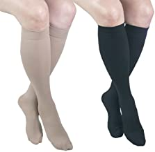 ITA-MED I H-3042 XXL BBL Microfiber Knee Highs Mixed Colors XX-Large