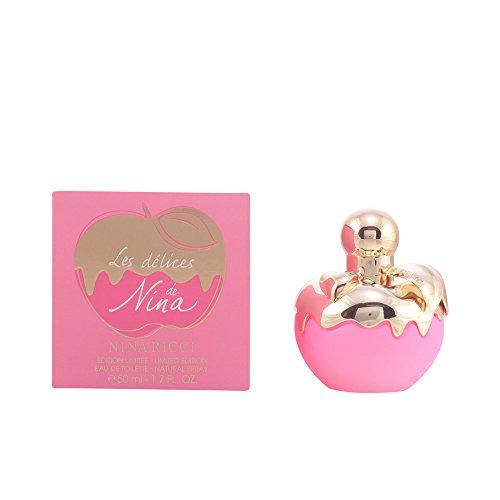 Nina Ricci Les Délices de Nina Eau De Toilette Spray 50ml Edizione Limitata