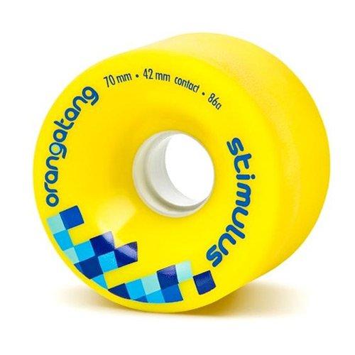 Orangatang Stimulus Yellow Wheels 70mm (Set of 4)