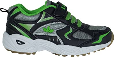 Lico Unisex - Child Bob VS Indoor Shoes  Black green / black Size: 25