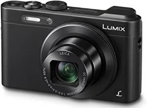 Panasonic Lumix DMC-LF1 Digitalkamera (12,8 Megapixel, 7,1-fach opt. Zoom, 7,6 cm (3 Zoll) Display, Full HD, bildstabilisiert) schwarz