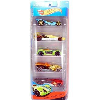 Hot Wheels Double Jump Duel 5 Pack (BFB25)