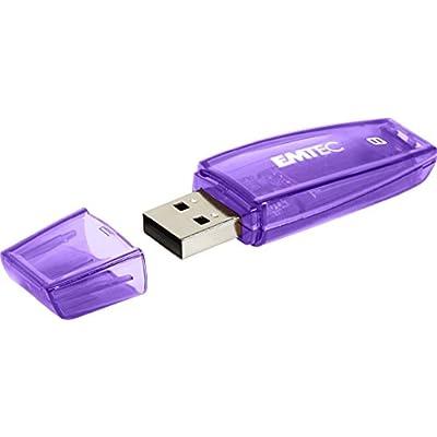 EMTEC 8 GB Color Mix USB 2.0 Flash Drive, Purple