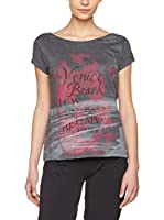 Venice Beach Camiseta Manga Corta Debby (Gris Oscuro)