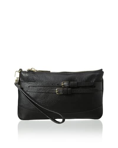 Zenith Women's Mini Wristlet Wallet, Black