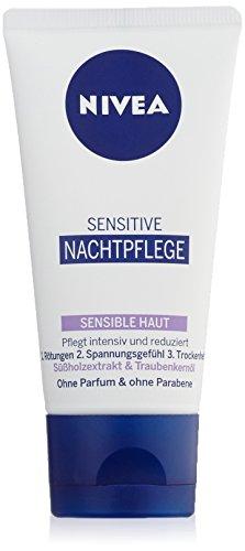 Sensitive Nachtpflege, für sensible Haut, 1er Pack (1 x 50 ml)