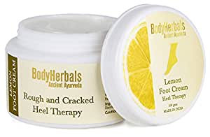 BodyHerbals Lemon Foot Cream, Rough & Cracked Heel Therapy
