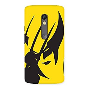 Wolf Zone Multicolor Back Case Cover for Moto X Play