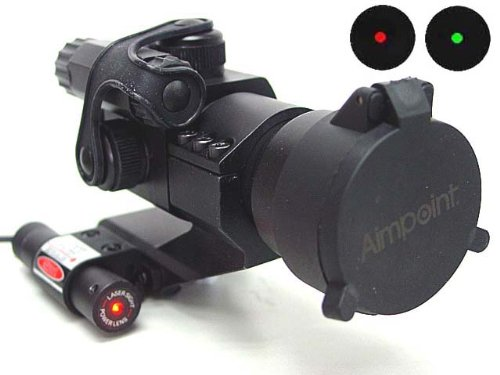 Comp M2 Type Red Green Dot Sight Scope with Red Laser