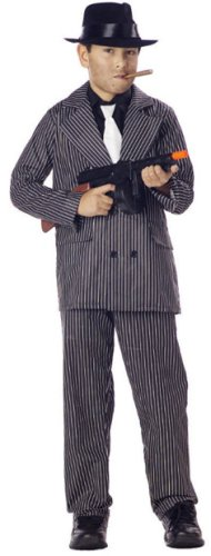 Childu0027s Gangster Halloween Costume (S..  sc 1 st  Wizzley & Halloween Costumes for Everyone