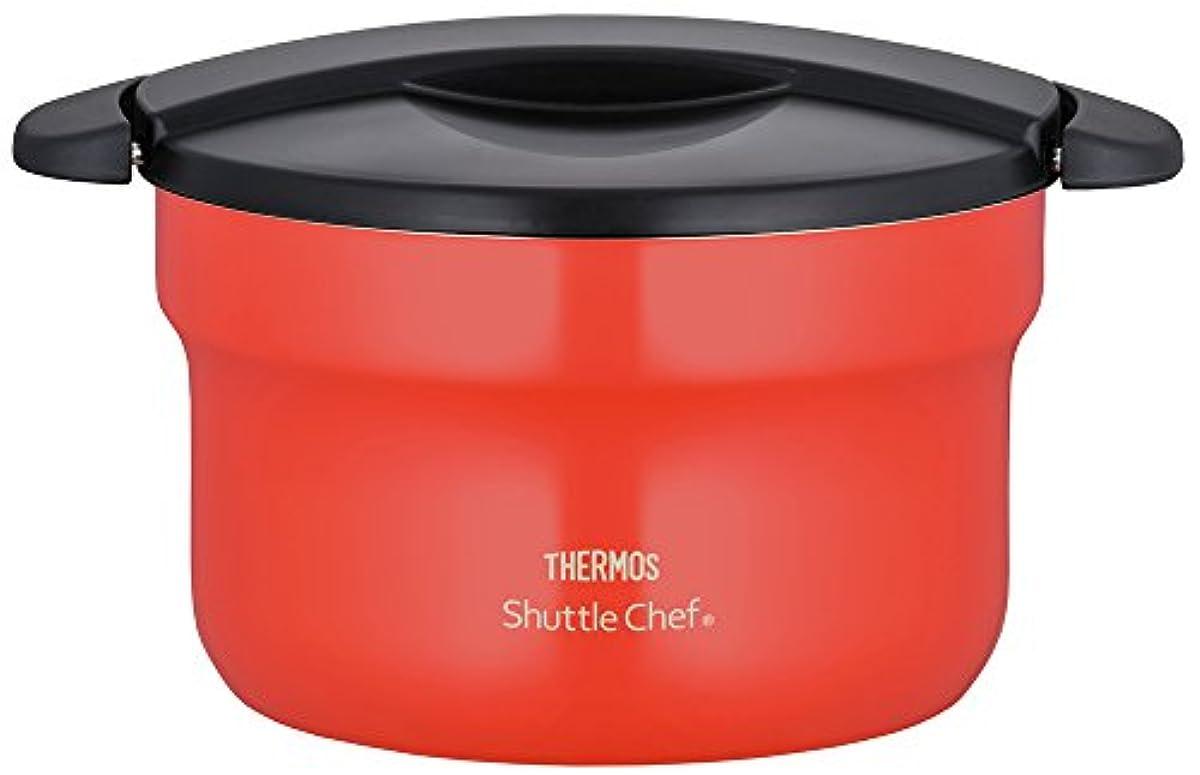 THERMOS(사모스) 진공 보온 밥솥 셔틀 요리사 2.8L [3 ~ 5 인용] 토마토 KBF-3001 TOM
