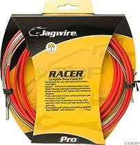 Jagwire Racer Complete Road Brake & Derailleur DIY Kit Red New