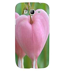 ColourCraft Lovely Pink Heart Design Back Case Cover for SAMSUNG GALAXY GRAND NEO PLUS I9060I