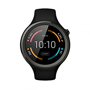 Motorola Moto 360 UK Version 2nd Generation Sport Smartwatch - Black