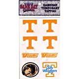 Tennessee Volunteers 8 Pack of Team Logo Temporary Tattoo Decals at Amazon.com
