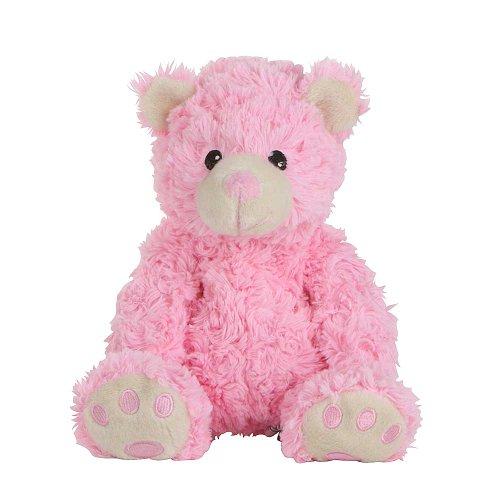Habibi Plush Wärmekuschelkissen Bär Teddybär pink mikrowellenfähig