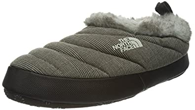The North Face Womens Nuptse Tent Mule Faux Fur II Athletic and Outdoor Sandals T0APPQG6T Demitasse Brown/Black 5 UK, 38 EU Wide