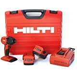 Hilti 03482657 SID 18-A CPC 18-volt Cordless Impact Driver with Universal Plastic Case and 1/4-Inch Hexagon Snap Chuck