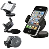 In Car Phone Holder Cradle Windscreen Suction Mount for Apple iPhone 4S